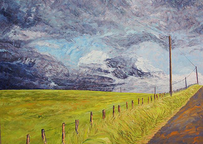 peinture paysage basque