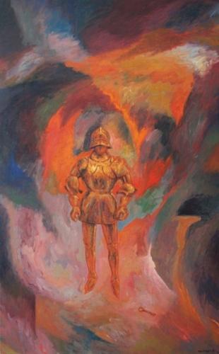 1991 95 Huile sur toile 116 73cm