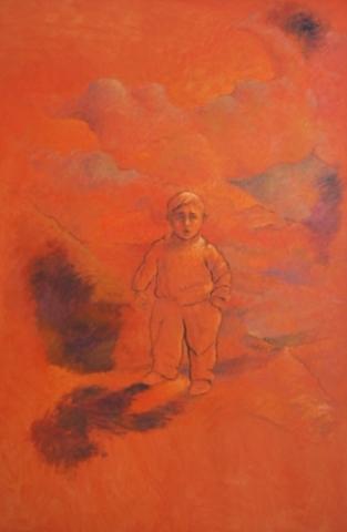 1991 Huile sur toile 146 97cm