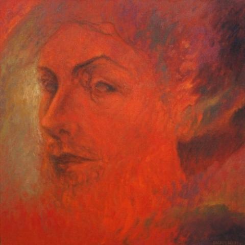 1991 Huile sur toile 50 50cm