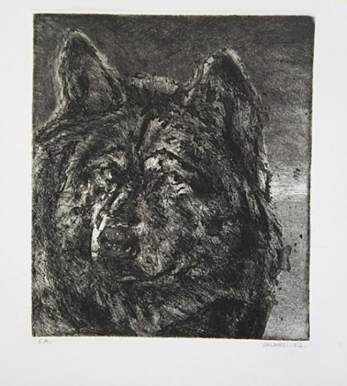 1992 gravure 24 20 cm