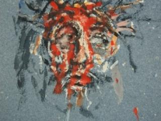 1992 gouache sur papier couleur 29 21cm