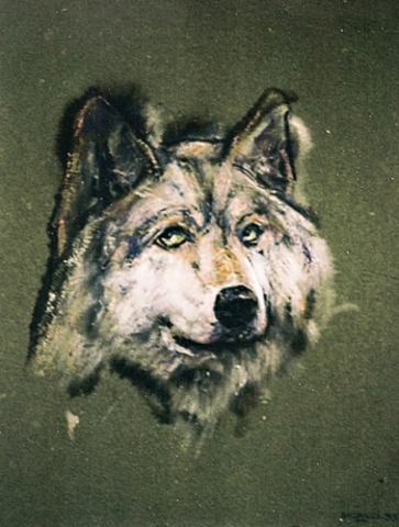 1993 Encre ,gouache sur papier couleur 29 21cm