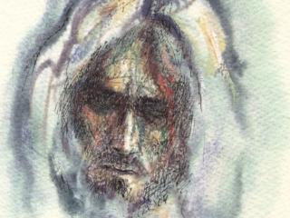 1993 aquarelle, encre