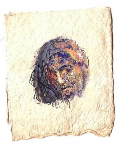 1993 gouache