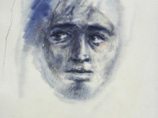 1994 crayon,aquarelle, gouache 29 21cm