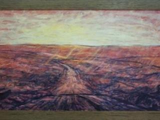 1995 Huile sur toile 80 40cm