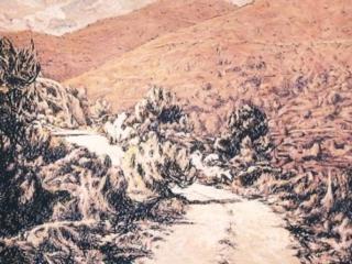 1996 Huile sur toile 146 114cm