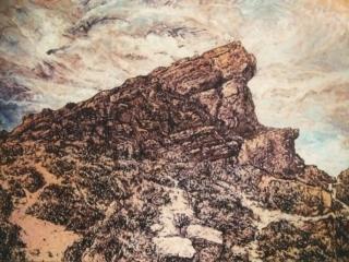 1996 Huile sur toile 92 73cm
