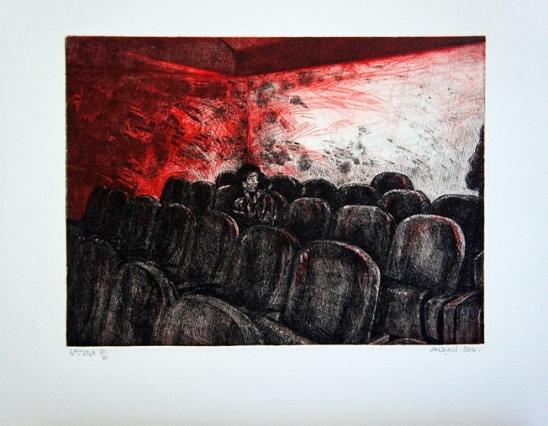 2004 gravure 27 23 cm