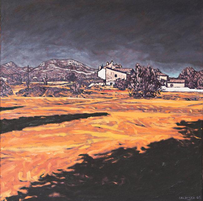 Peinture huile Patrick Salducci