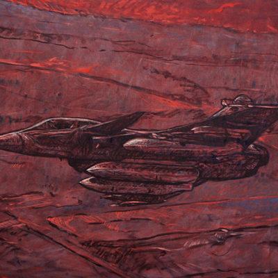 Peinture avion Patrick Salducci-