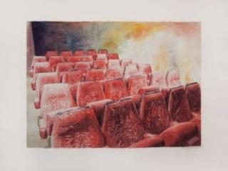 Aquarelle cinéma  artiste peintre