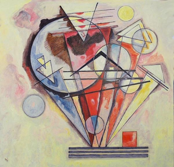 Reproduction tableau Kandinsky