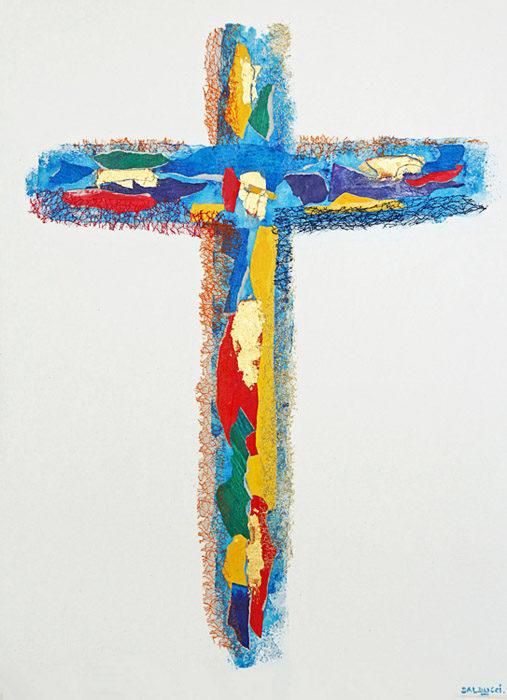 Peinture Croix Patrick Salducci