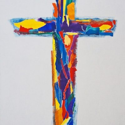 chritian art cross Patrick Salducci