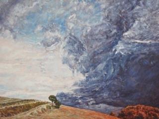 Peinture huile sur toile Patrick Salducci