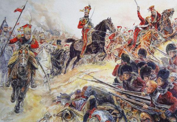 aquarelle Soldat Napoléon