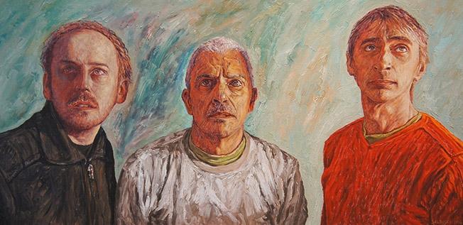 Portraits peinture huile