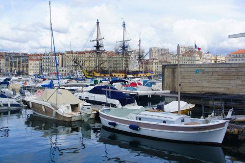 l'Hermione Vieux Port Marseille