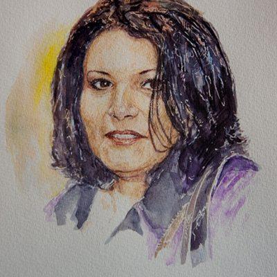 Portraitiste artiste peintre Marseille