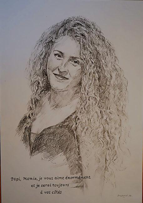 Portraitiste Marseille artiste peintre