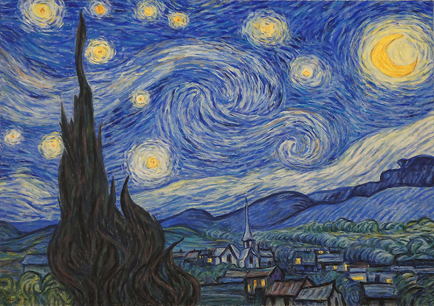 Nuit étoilée Van Gogh par Patrick Salducci
