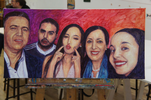 portraitiste marseille artiste peintre salducci